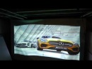 GAMING ON THE NEW CRYSTAL EDGE TECHNOLOGY PROJECTOR SCREEN SIZE 6 X 10 ONLY $1 300