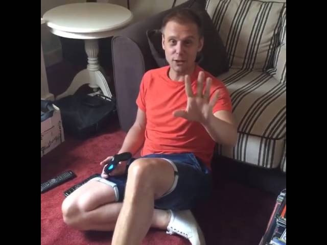 Armin van Buuren Welcome To The mancave