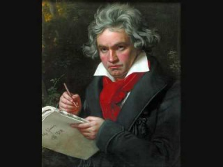 Бетховен, фрагмент финала 9-ой симфонии