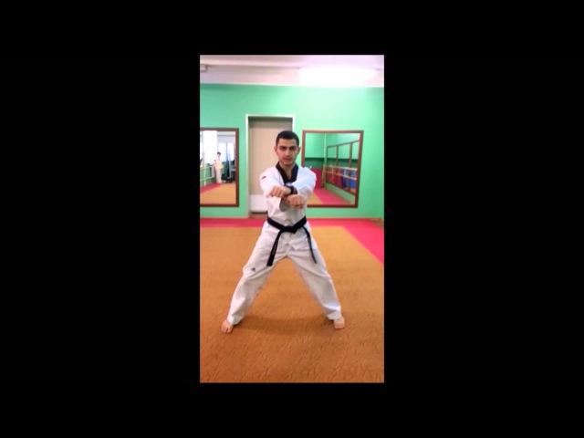 Taekwondo WTF Стойка Чучум Соги