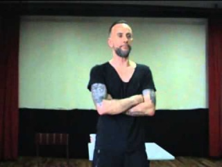 Nergal - 'Confessions of a Heretic' press conference, Macedonia,