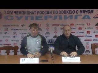 Пресс-конференция О.В. Батова и Е.В.Ерахтина
