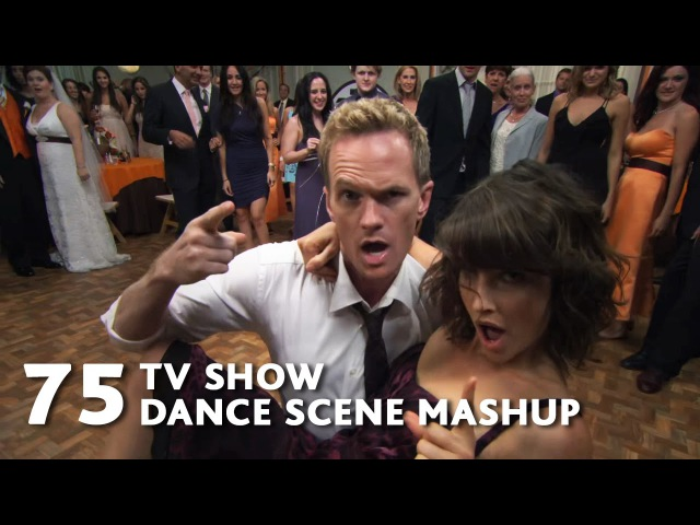 75 TV Show Dance Scenes Mashup Justin Timberlake Can't Stop the Feeling WTM