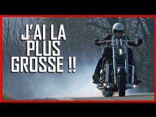 BOSS HOSS test moto : La plus GROSSE moto du monde ! (English Subs)
