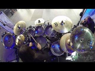 "Kerim ""Krimh"" Lechner SEPTICFLESH@Pyramid God - Czarcie Kopyto drum cam"