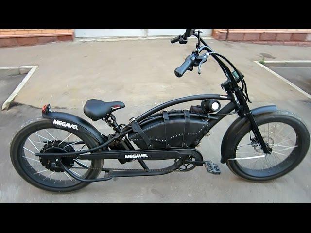 Электро вело чоппер Megavel Bronco Extreme