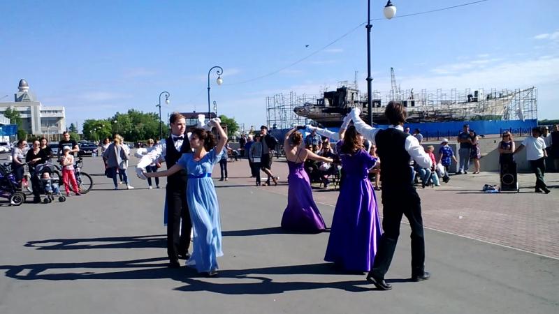 29.05.2016 Dreamflash 2016. Танцы лендлер и вальс Анастасия