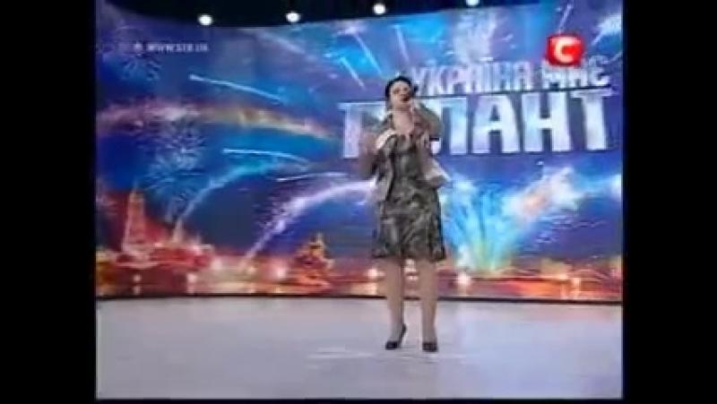 Украина ищет таланты. Вот это голос. Поет слепая девушка » FreeWka - Смотреть онлайн в хорошем качестве