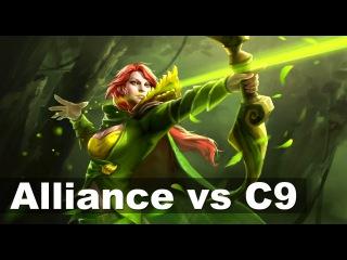 Alliance vs Cloud 9 Elimination Match Major Dota 2