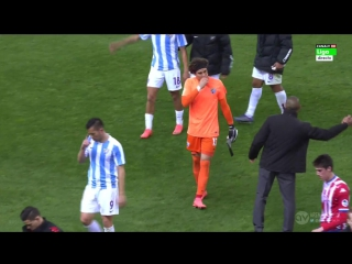 Malaga sporting gijon 2nd half la liga 2015/16 29 tour