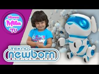 HappyMilaTV #182 | Песик Шио и кошечка Шатон - Роботы-Животные