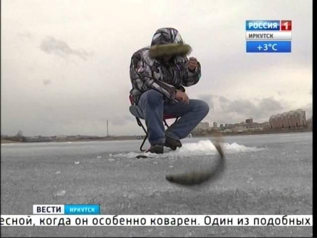 Инспекторы рыбохраны пытаются убедить рыбаков в опасности выхода на лёд