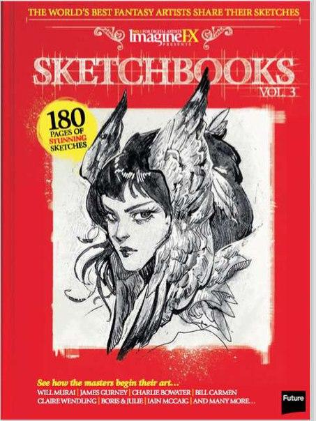 Book cover Sketchbooks Vol 3 - 2016  UK