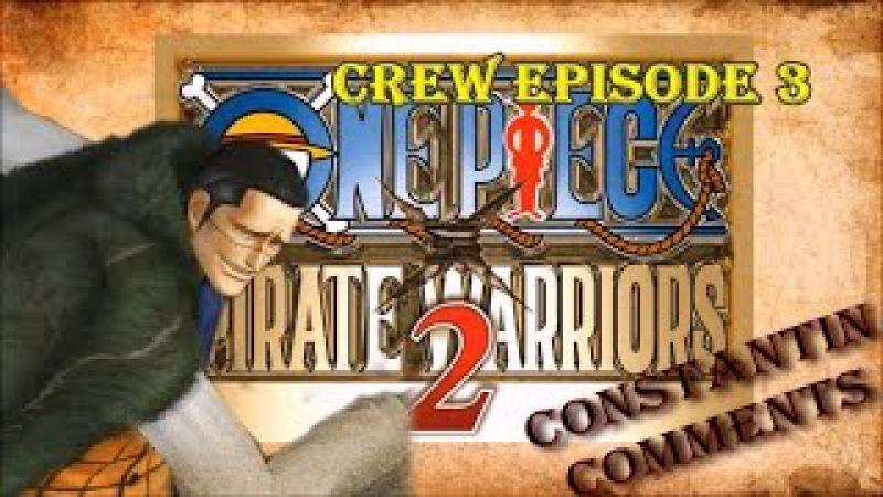 One Piece Pirate Warriors 2 Крокодаил против Иванкова