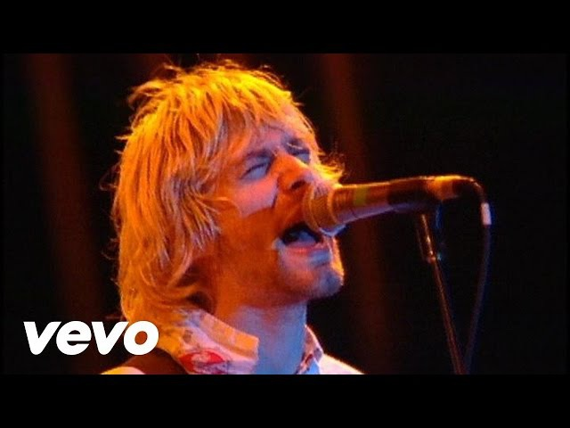 Nirvana D 7 Live at Reading 1992
