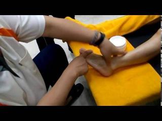 Chinese foot reflexology massage no subtitle