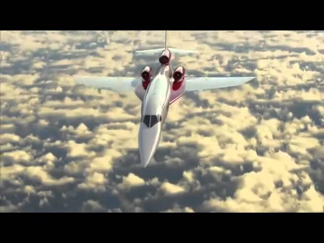 Новый сверхзвуковой самолет Aerion AS2