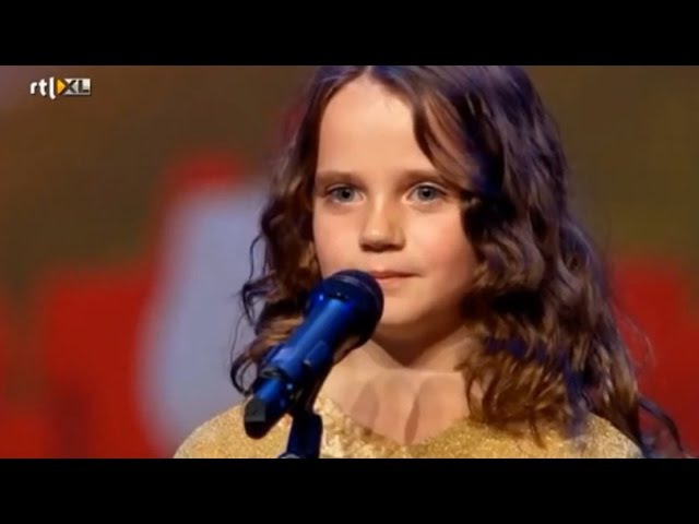 Amira Willighagen sings 'O Mio Babbino Caro' on Holland's Got Talent