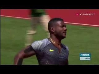 Justin Gatlin  WL 100m Men - Eugene Diamond League 2016