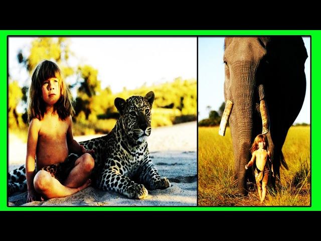 Удивительная история жизни Типпи Дегре До 10 летнего Возраста Типпи Росла с Дикими Животными