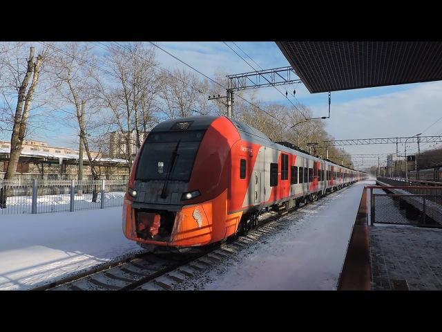 Электропоезд ЭС1-020 Ласточка сообщением Нижний Новгород - Москва