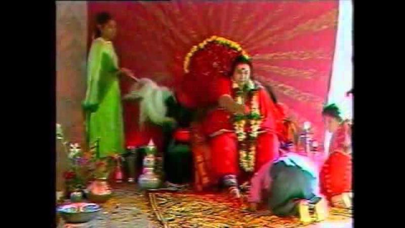 Пуджа в Рахури 21.12.87 г. 3 Великие Мантры. Бхаджаны.