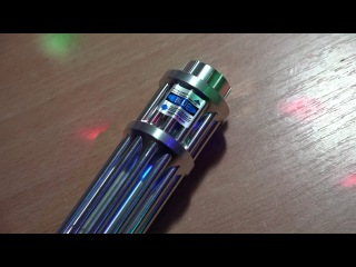 Синий лазер. Распаковка (за $ 38 минус $1 скидка продавца) / Blue laser. Unpacking and checking
