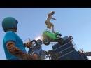 Паркур Прыжки На Мотоциклах По Зданиям На Здания! GTA 5 Смешные Моменты