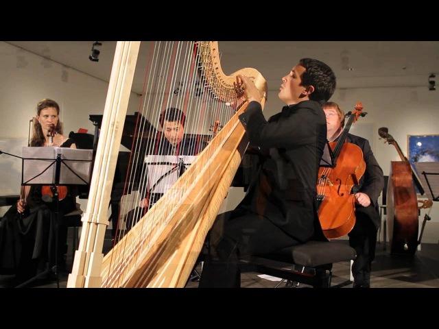 Ravel Introduction et Allegro for Harp Flute Clarinet and String Quartet Maiburg Ceysson
