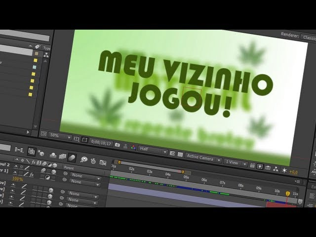 14. After Effects: Tipografia Cinética Bezerra da Silva Tutorial