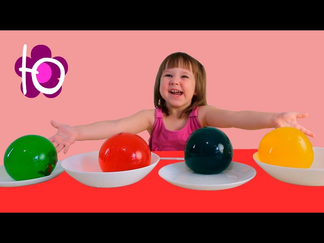 Маша и Медведь Сюрпризы в больших желейных шариках игрушки Masha and the Bear in giant gummy balls