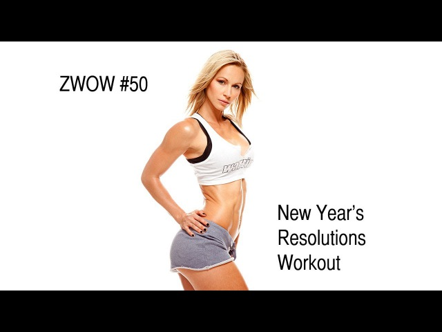 ZWOW 50 Time Challenge New Year's Resolution Workout