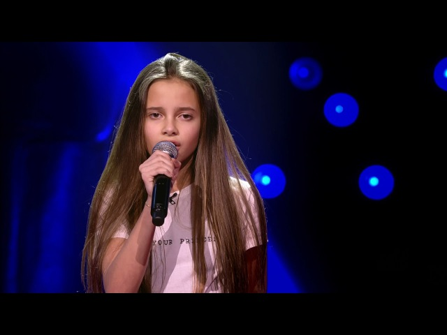 Romy - 'Same Old Love' | Blind Auditions | The Voice Kids | VTM
