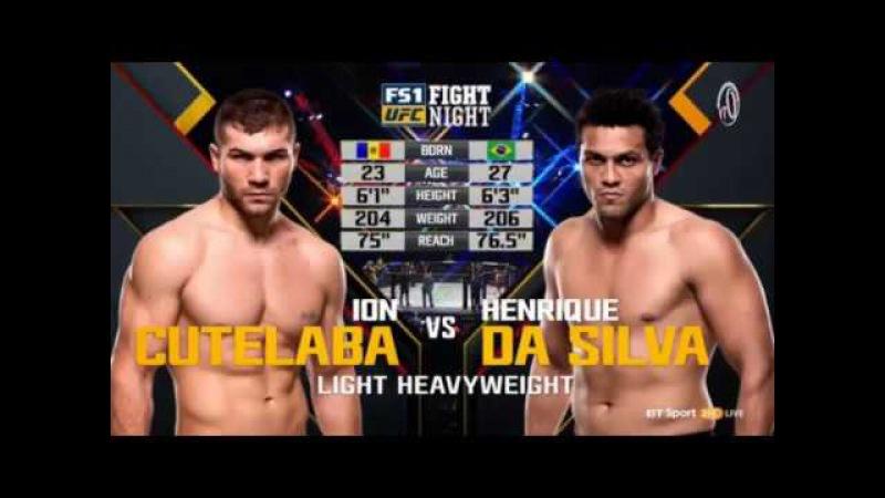 UFC FIGHT NIGHT Ion Cutelaba VS Henrique Da Silva