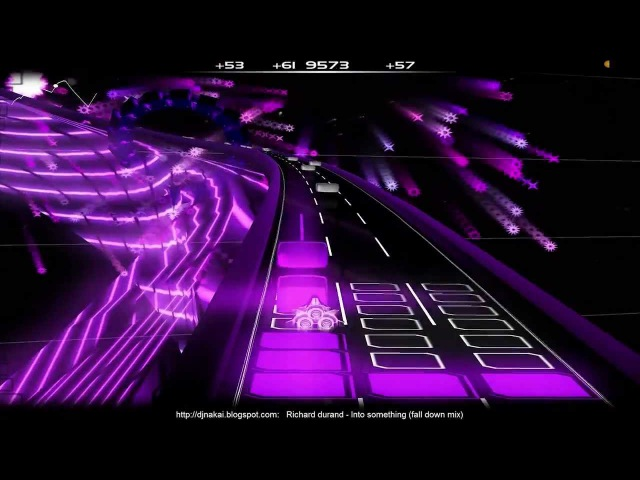MIKE Playes Audiosurf - Richard Durand - Into Something (Fall Down Mix)