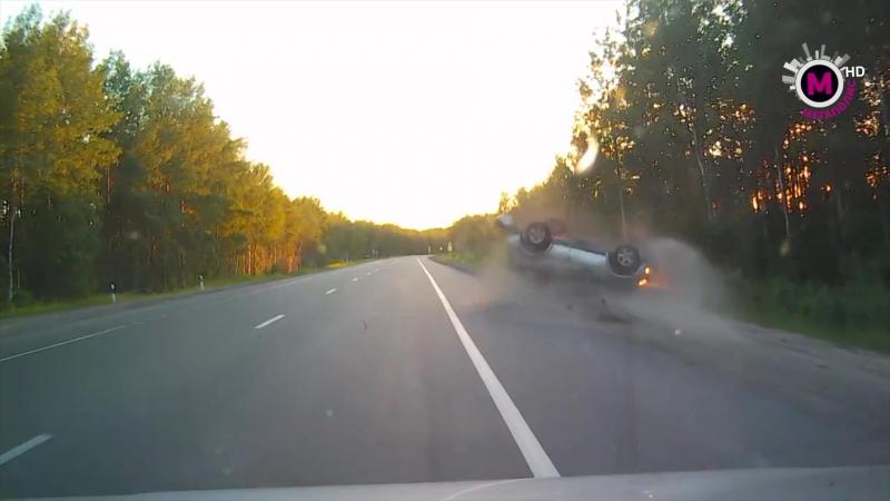 На трассе Нижневартовск Мегион произошла авария