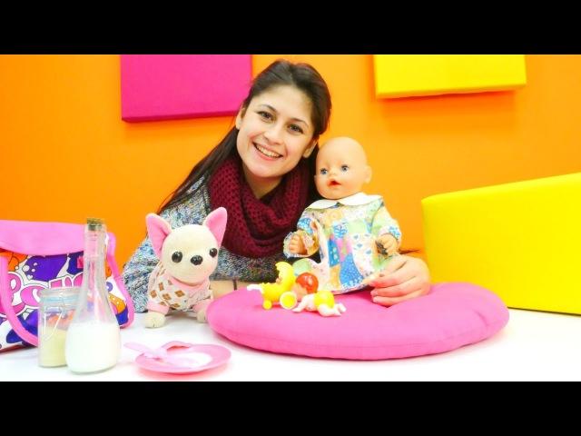 Bebek bakma oyunu.Ayşe Loli ve Gülü dışarı çıkarıyor.👩👶🐶Kızoyunları