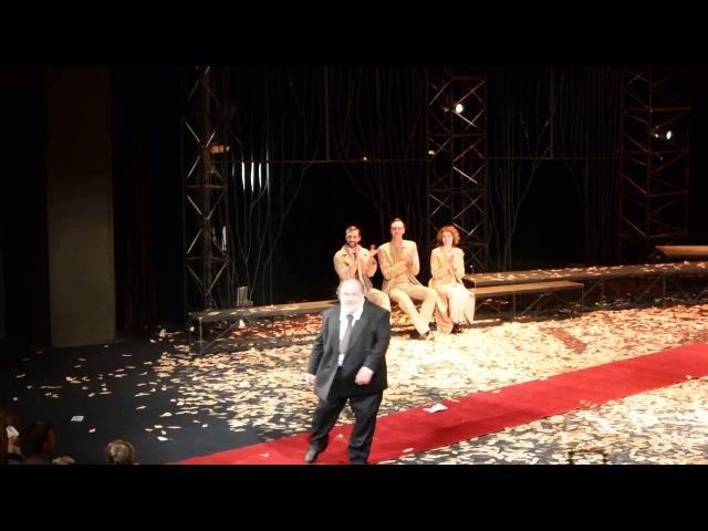 2017 08 25 Москва Театр им Моссовета Встречайте мы уходим Поклоны