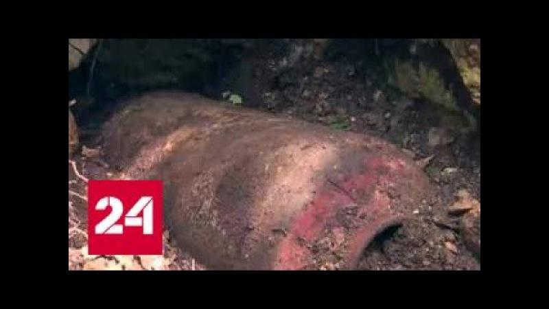 В Крыму обезвредили 500-килограммовую бомбу времен Великой Отечественной войны