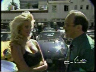 KENNY MORSE on EXTRA with Playboy Centerfold VICTORIA SILVSTEDT