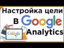 Настройка цели в аналитикс. Гугл аналитикс