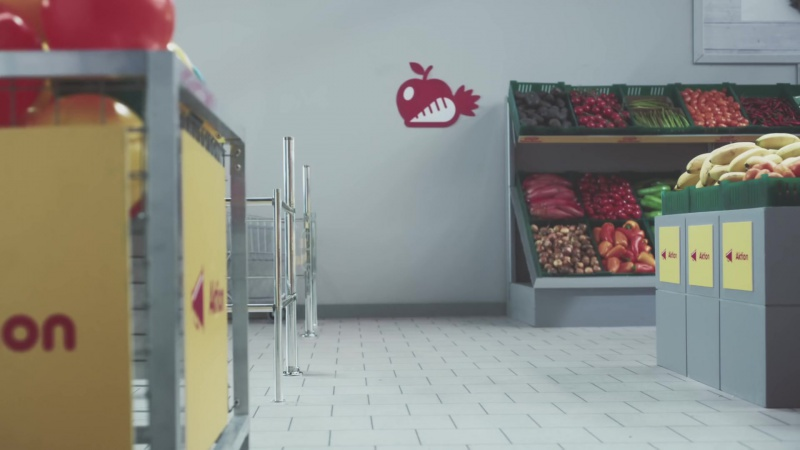 Коты в рекламе Netto Katzen
