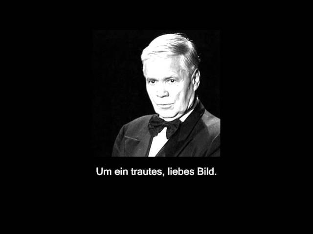BRAHMS Liebe und Frühling I Op 3 No 2