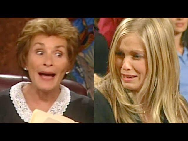 """You have no case, goodbye!"" ℑudge ℑudy vs. Dumb Blonde"