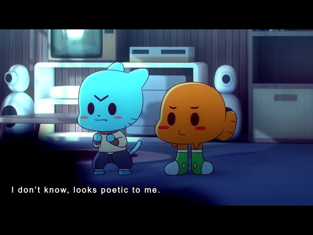 Anime Gumball being Traumatized by Hentai Animation by Mike Inel