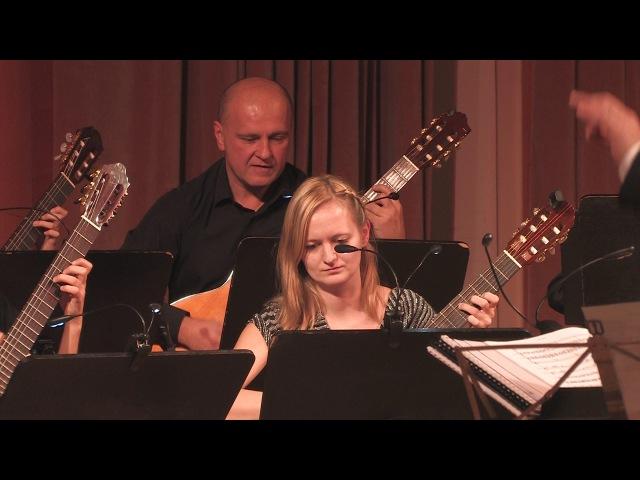OUT OF SPACE Liam Howlett arr Snelle Fjöll Orkester Mandolina Ljubljana dir Andrej Zupan