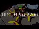 Полет над Рыбинском Пузырево поле на JJRC JJPRO P200
