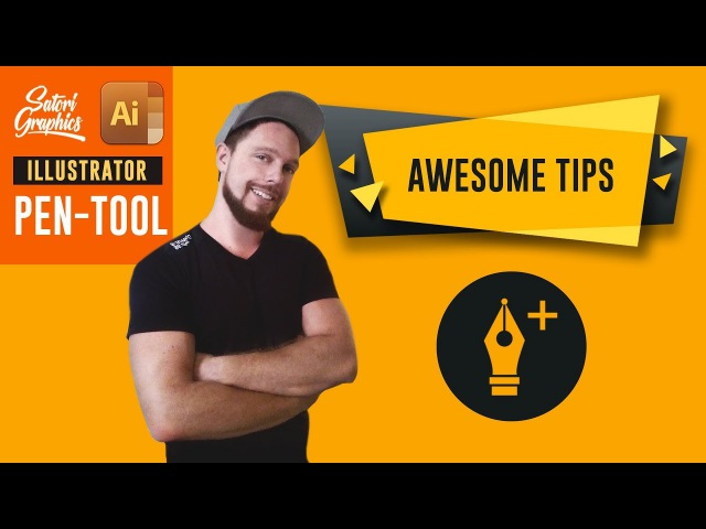 Illustrator Pen Tool Techniques AWESOME TIPS Satori Graphics