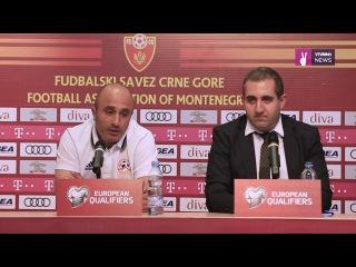 Arthur Petrosyan's pre-match press conference ahead of Montenegro clash