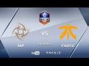 NiP vs fnatic ECS S4 by Kvan Homer